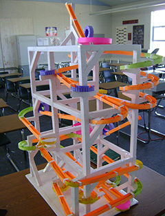 A Carefully Crafted Roller Coaster Made By Mr Butterfields Science Class At Summit High School