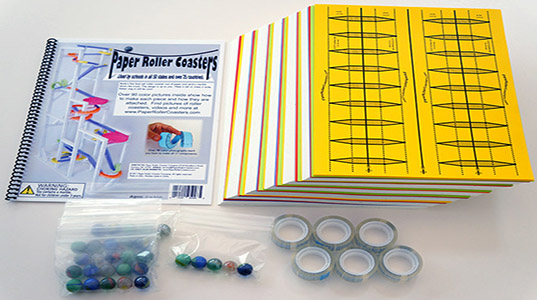 Paper roller coasters for Free printable paper roller coaster templates