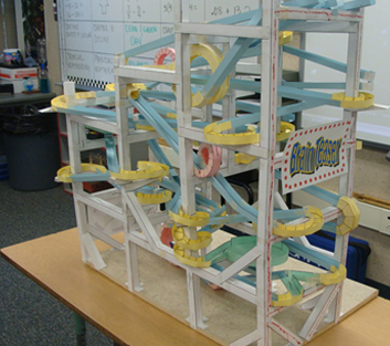 Paper Roller Coasters