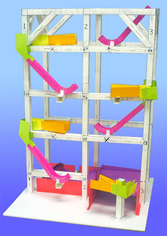 Paper roller coasters science olympiad roller coaster kit maxwellsz